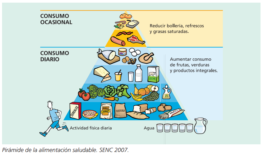 nutricion, piramide nutricional, alimentacion, futbolista, futbol base